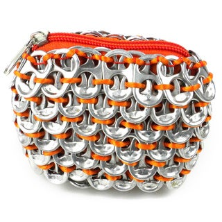 Handmade Recycled Poptop Coin Purse (Mexico)