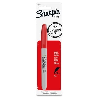 Sharpie Fine Point Red Ink Permanent Marker