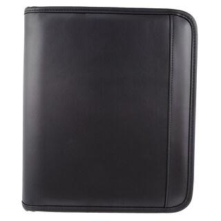 Bugatti Black Fully Integrated Identity Block Protection Writing Case