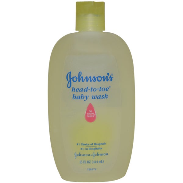 Johnson & Johnson Head-To-Toe 15-ounce Baby Wash