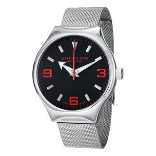 Stuhrling Original Men's Eagle Elite Swiss Quartz Stainless Steel Strap Watch