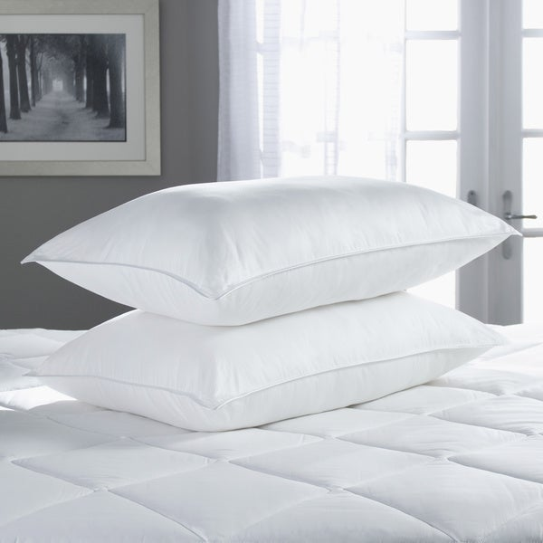 TRUMP Home 300 Thread Count 50/50 Feather and Down Pillow