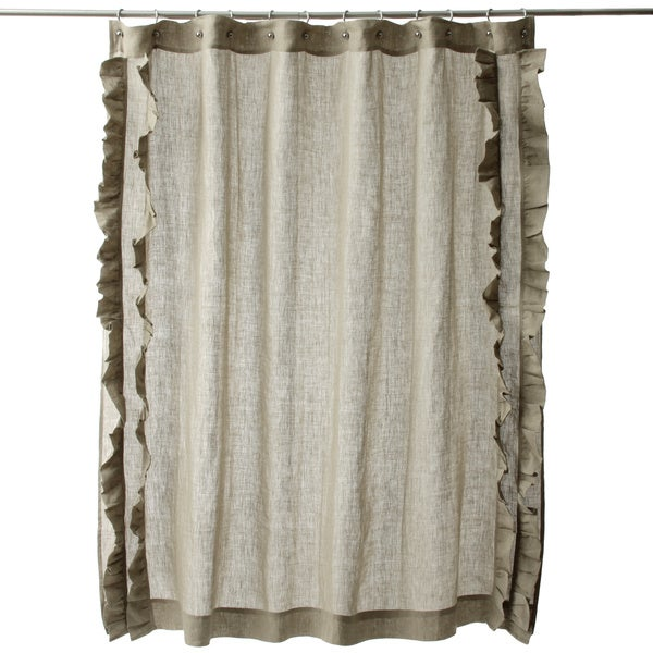 Oil Rubbed Bronze Curtain Rods Pottery Barn Linen Shower
