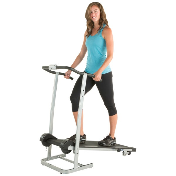 Progear 190 Manual Treadmill With 2 Level Incline And Twin