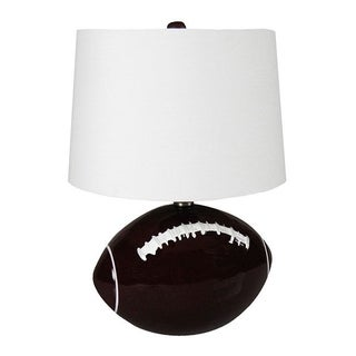 Ceramic Hand-painted Football Lamp