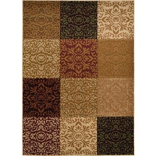 Revolution Contemporary Multicolored Rug (5'3 x 7'7)