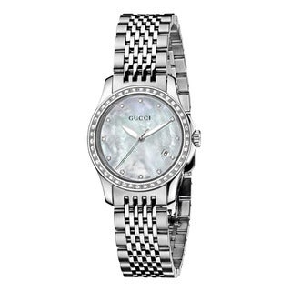 Gucci Women's YA126508 G-Timeless Stainless Steel Watch
