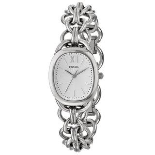 Fossil Women's ES3510 Sculptor Three Hand Silvertone Watch