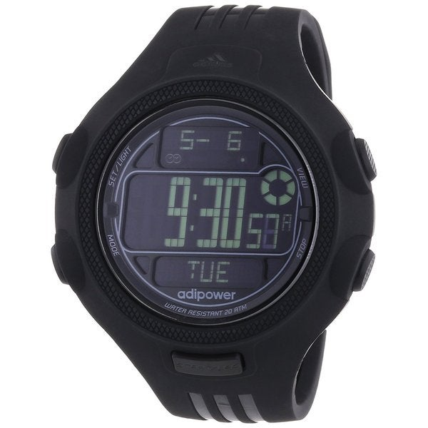 Adidas ADP3121 Adipower Alarm Black Chronograph Watch