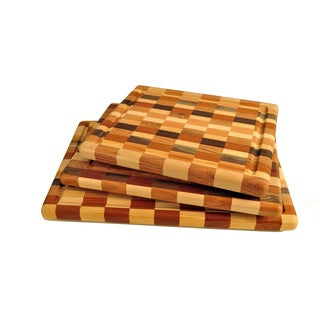 Handmade Wood Check Cutting Board