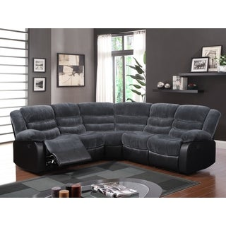 3-piece Champion Thunder Black Sectional