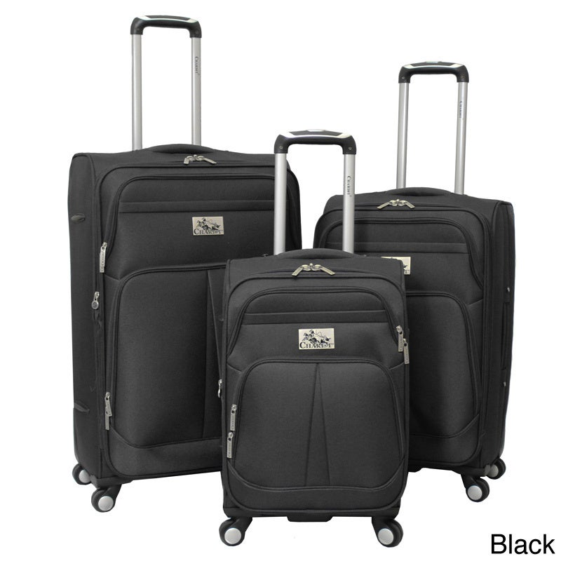 Chariot Travelware  Chariot Taranto 3-piece Polyester Spinner Luggage Set