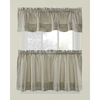Daisy Gingham Valance or Tier