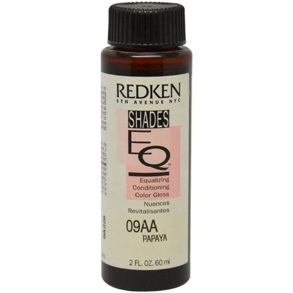 Redken Shades EQ 09AA Papaya 2-ounce Hair Color Gloss