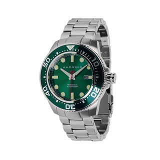 Android Men's Divemaster 200 Green Stainless Steel Watch