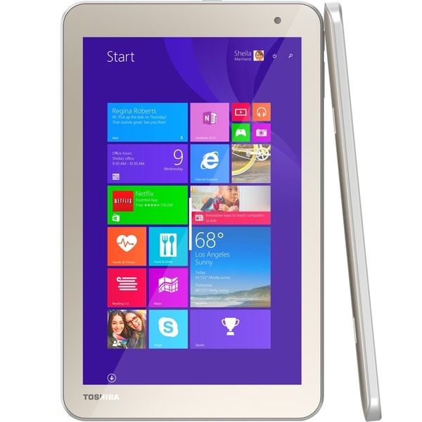"Toshiba Encore 2 WT8-B32CN 32 GB Net-tablet PC - 8"" - Clear SuperView"