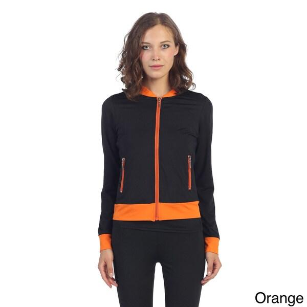 Hadari Women's Colorblocked Active Jacket