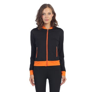 Hadari Women's Colorblocked Active Jacket