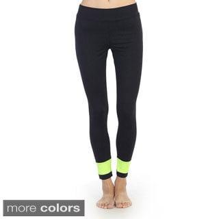Hadari Women's Active Spandex-blend Pants