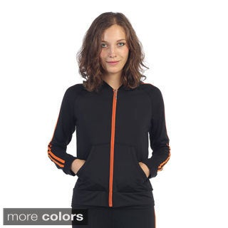 Hadari Women's Colored Trim Active Jacket