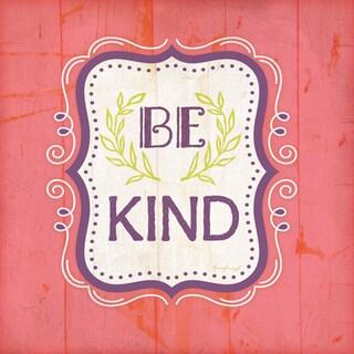 Jennifer Pugh 'Be Kind - Pink' Paper Poster