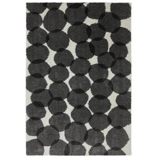 Mohawk Home Woven Polyhedron Link Shag Rug (6'6 x 10')