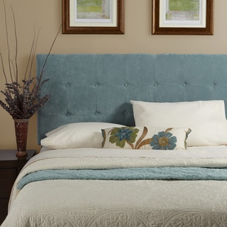 Humble + Haute Sussex Velvet Sky Blue Queen Tufted Upholstered Headboard