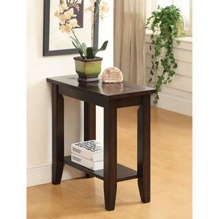 Furniture of America Erhart Mosaic Insert Side Table