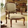Furniture of America Errington Antique Oak Accent Chair