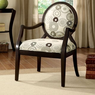 Furniture of America Lucerne Modern Espresso Accent Chair