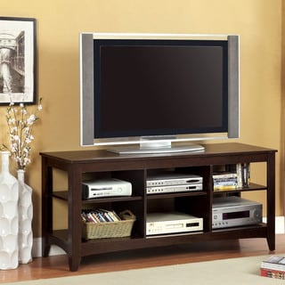 Furniture of America Emworth Open Transitional 60-Inch TV Console
