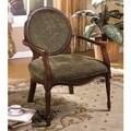 Furniture of America Lemington Dark Oak Accent Chair