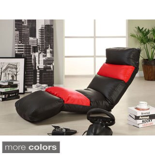Furniture of America Gamer Leatherette Lounge Chair