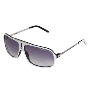 Carrera Unisex 'Cool/S' White / Black Sunglasses