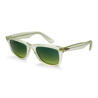 Ray-Ban Ice Pops Wayfarer 50mm Sunglasses - Green Frame, Gradient Green Lens