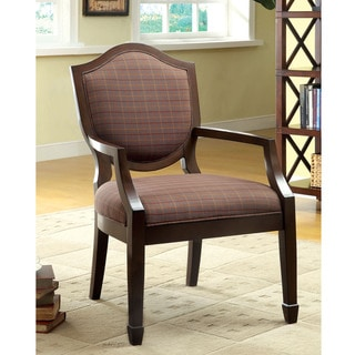 Furniture of America Ruben Medieval Style Accent Chair