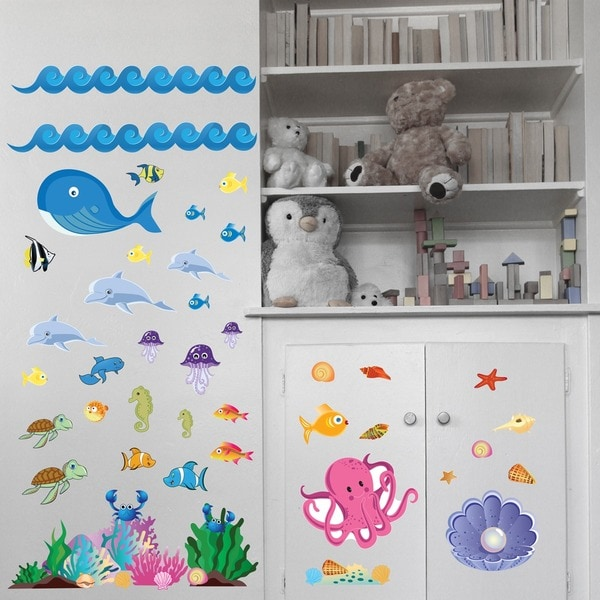Ocean Girl Interactive Wall Play Set