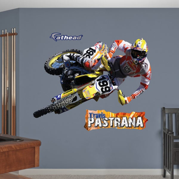 Fathead 'Travis Pastrana' Wall Decals