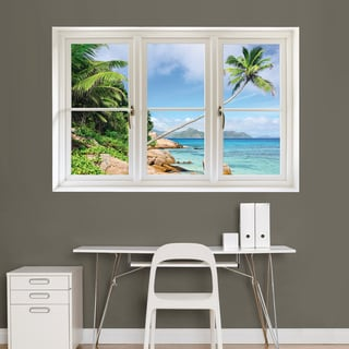 Tropical Beach, Seychelles' Instant Window