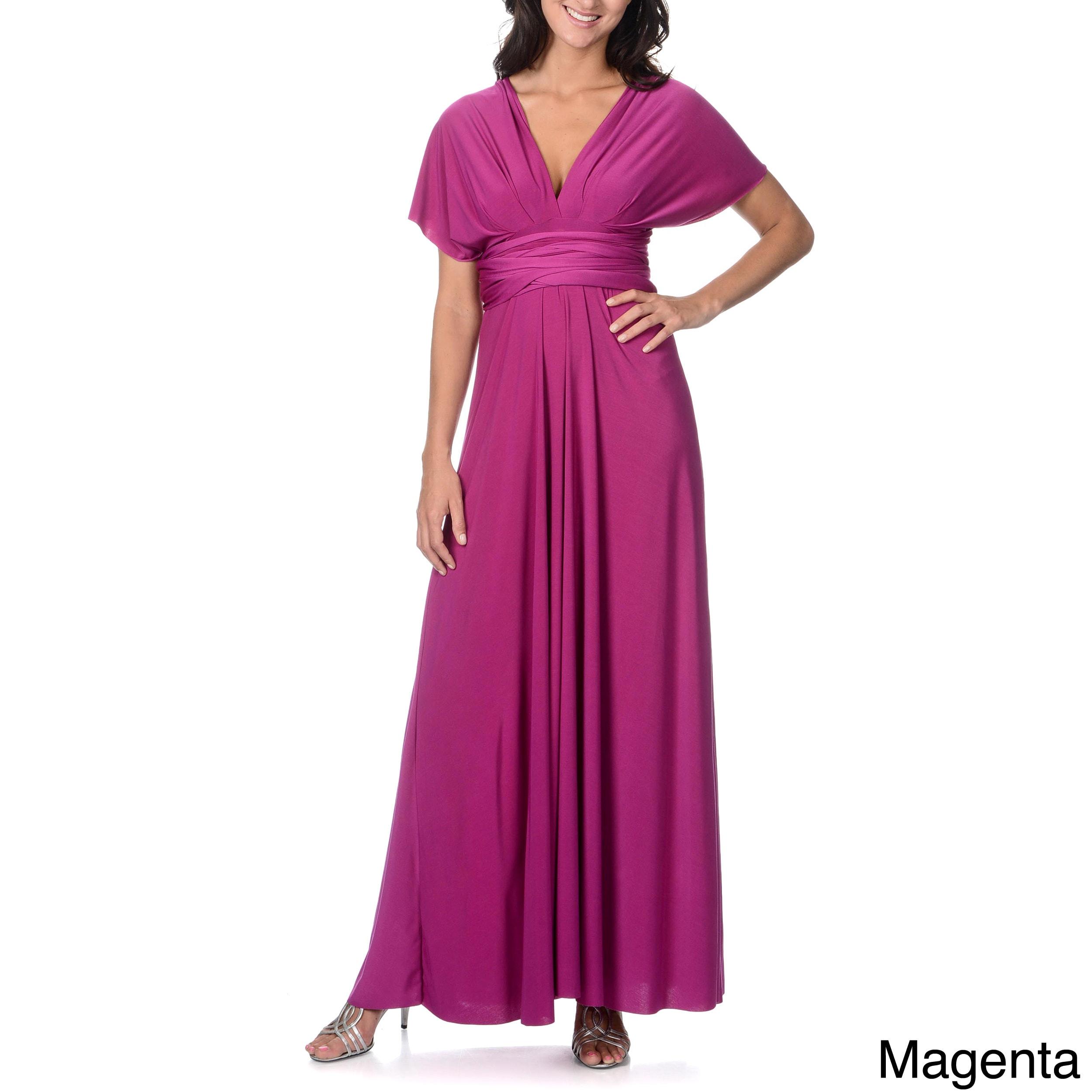 Von Ronen New York Women's Long Transformer Dress One Size Fits 0-12 at Sears.com