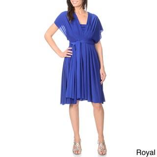 Von Ronen New York Women's Short Transformer Dress One Size Fits 0-12