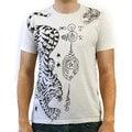 Doctrine Men's Tiger T-shirt in Vintage White Wash
