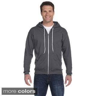 Anvil Men's Ringspun Full-zip Hooded Sweatshirt