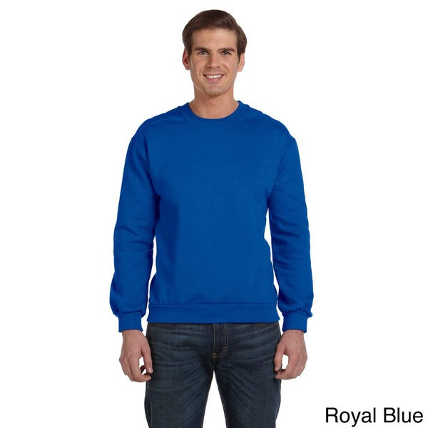 Anvil Men's Ringspun Crewneck Sweatshirt