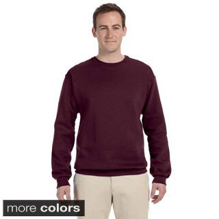 Men's 50/50 NuBlend Fleece Crew Pull-over