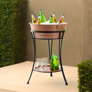 Outdoor Escapes Copper Steel Ice Tub
