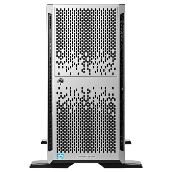 HP ProLiant ML350p G8 5U Tower Server - Intel Xeon E5-2609 v2 Quad-co