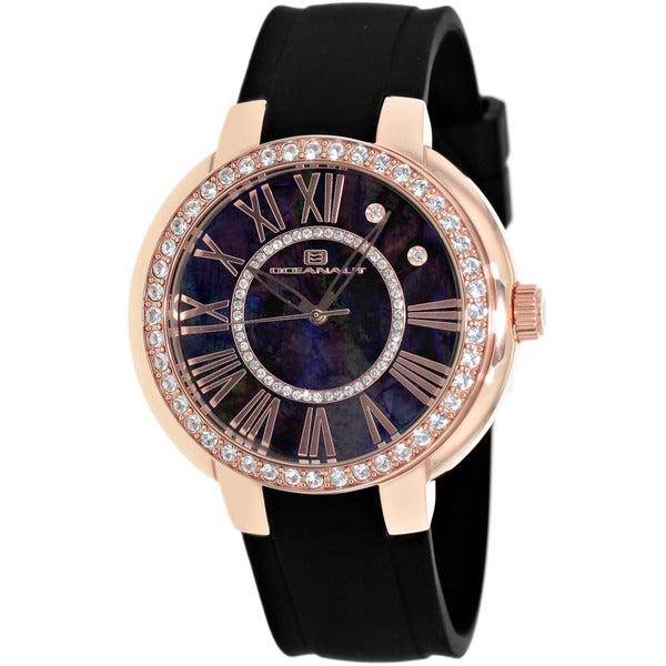 Oceanaut Women'sBlack Allure Watch
