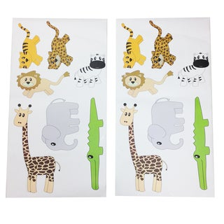 Jazzie Jungle Boy Wall Decals