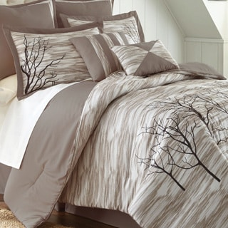 Alison Tree Print 8-piece Comforter Set
